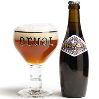 Orval Trappist Belgian Beer Glass